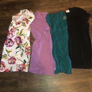 Maternity Bundle of 4 Short Sleeve Shirts